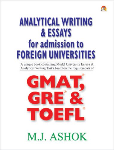 Analytical Writing and Essays for Admission to Foreign Universities